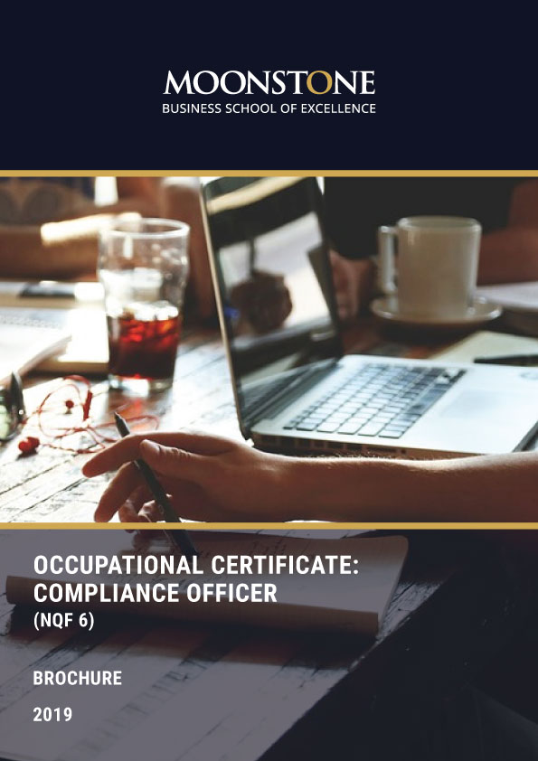 Compliance Officer, Compliance Officer (NQF 6) – Occupational Certificate