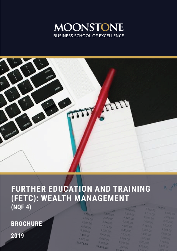 wealth management course distance learning, FETC Wealth Management (NQF 4)